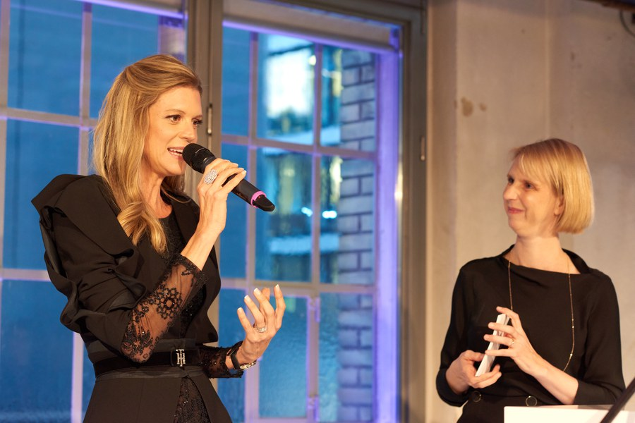 ZFF-Festivaldirektorin Nadja Schildknecht mit Pascale Huber.