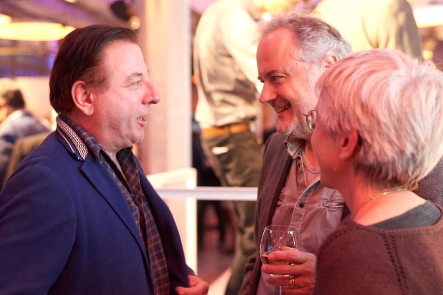 Schauspieler Beat Schlatter war auch zu Gast.