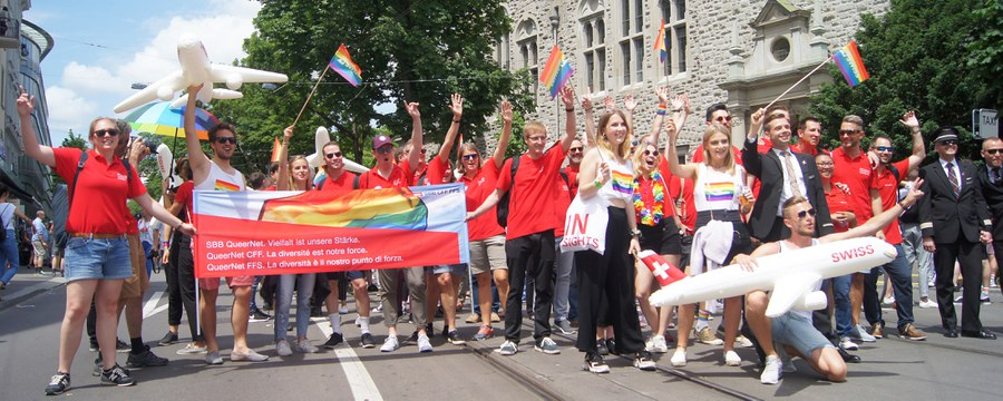 Impressionen von der GayPride