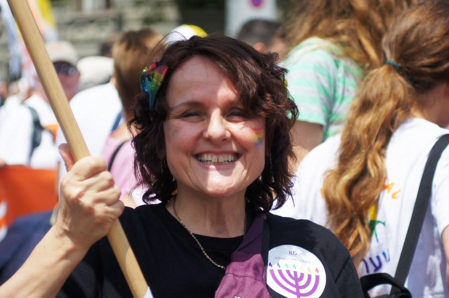 Iris Ritzmann von der Jüdisch-Liberalen Gemeinde