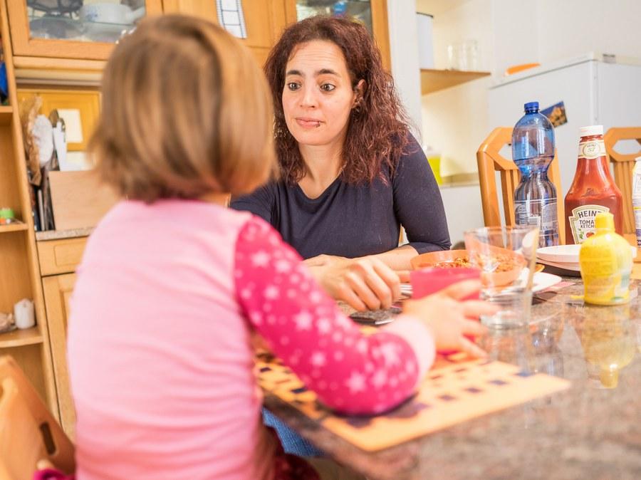 Armut in Familien. Foto Caritas Zürich
