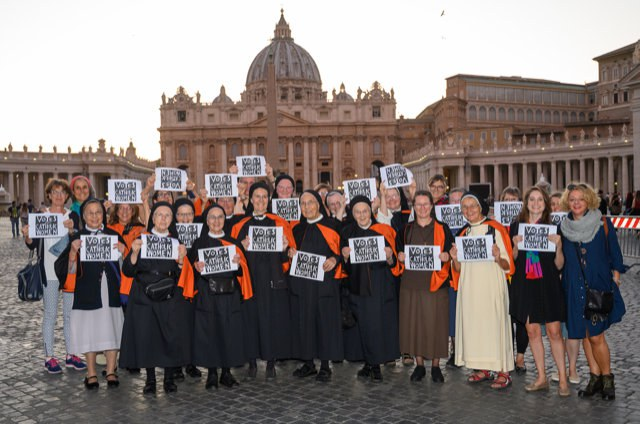 Voting Rights for Synod 2019 mit Schweizer Ordensfrauen