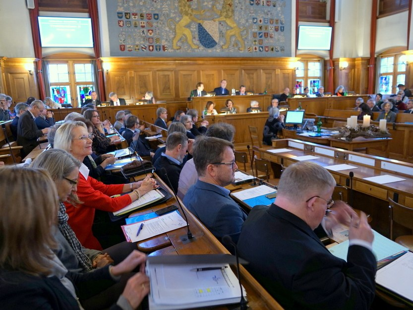 Synodensitzung im Zürcher Rathaus