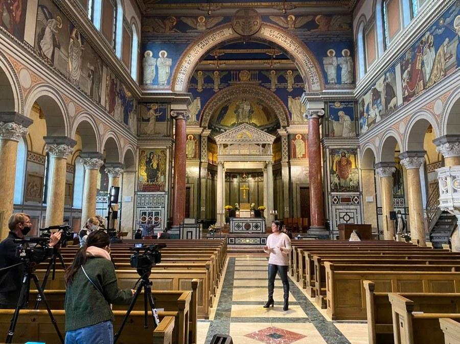 Musikaufnahmen iin der Liebfrauenkirche