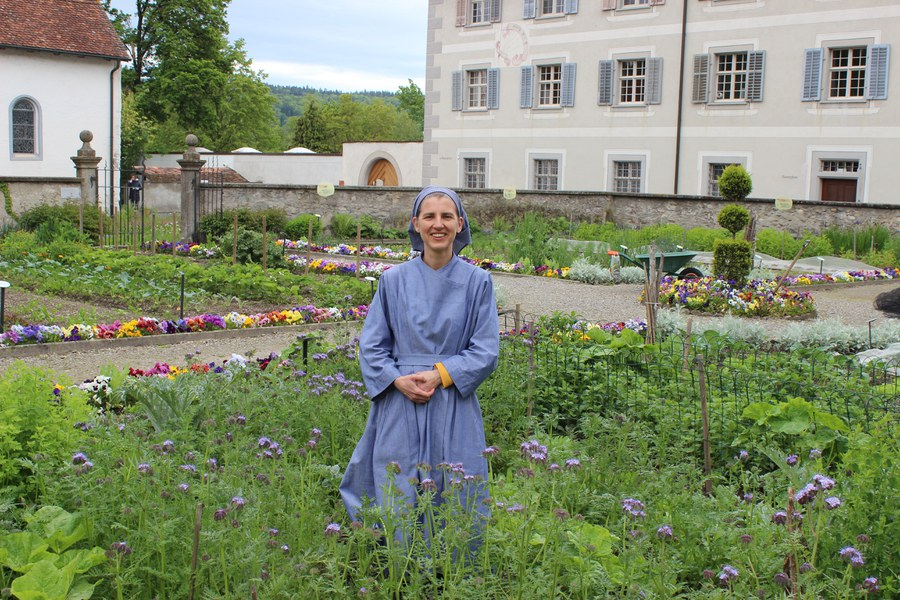Judith Samson, Novizin im Kloster Fahr