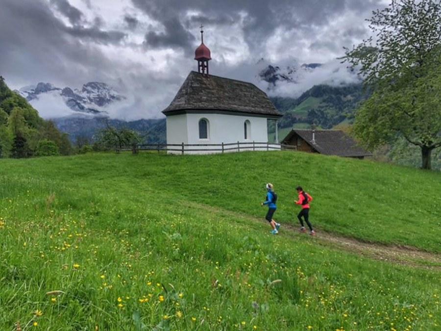 Kraftort Kapellenweg Engelbergertal (Marianne Stirnimann-Wicki)  Copyright: Fachstelle Religionspädagogik ZH