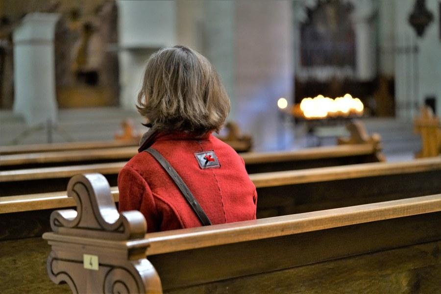 Mit Gott im Dialog (3) (Hans Rohrer) Copyright: Fachstelle Religionspädagogik ZH
