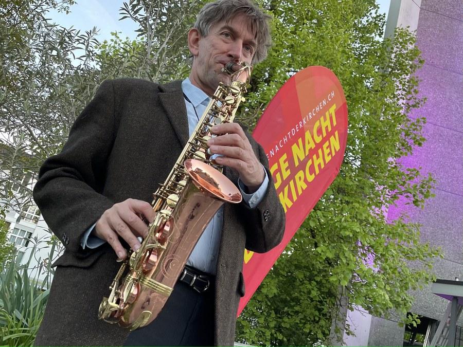 Live-Musik in der Pfarrei St. Benignus in Pfäffikon