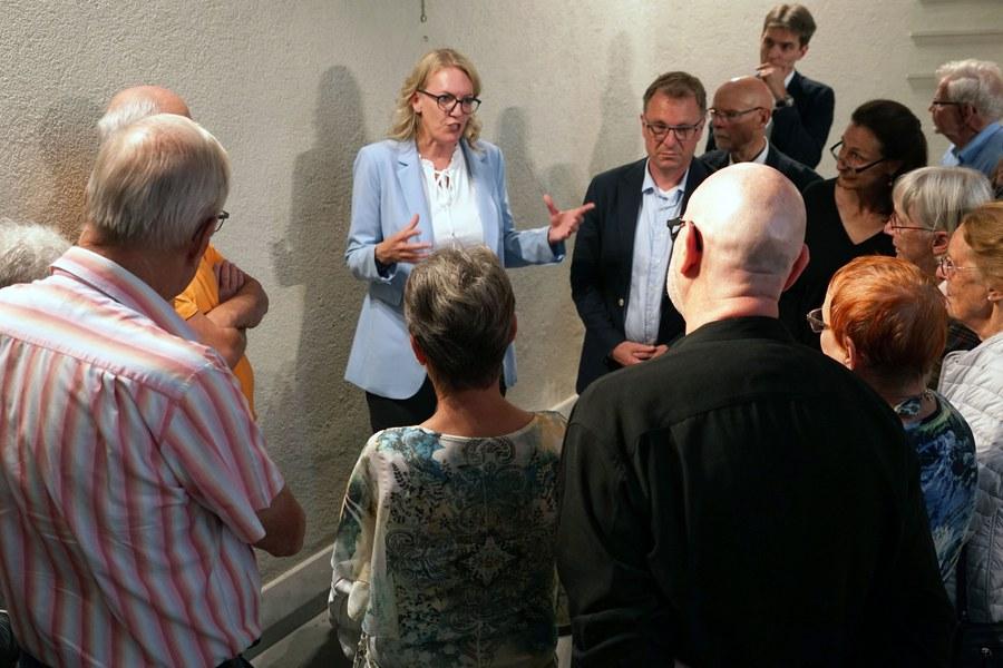 Franziska Driessen mit Gästen