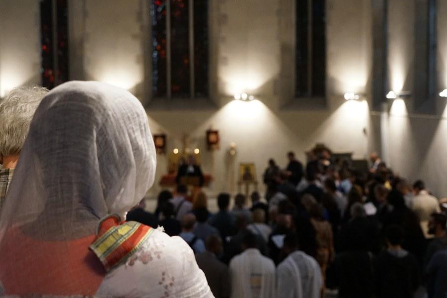 Orthodoxe Christen aus aller Welt sind zum Fest der Stadtheiligen gekommen_FOTO_Arnold Landtwing