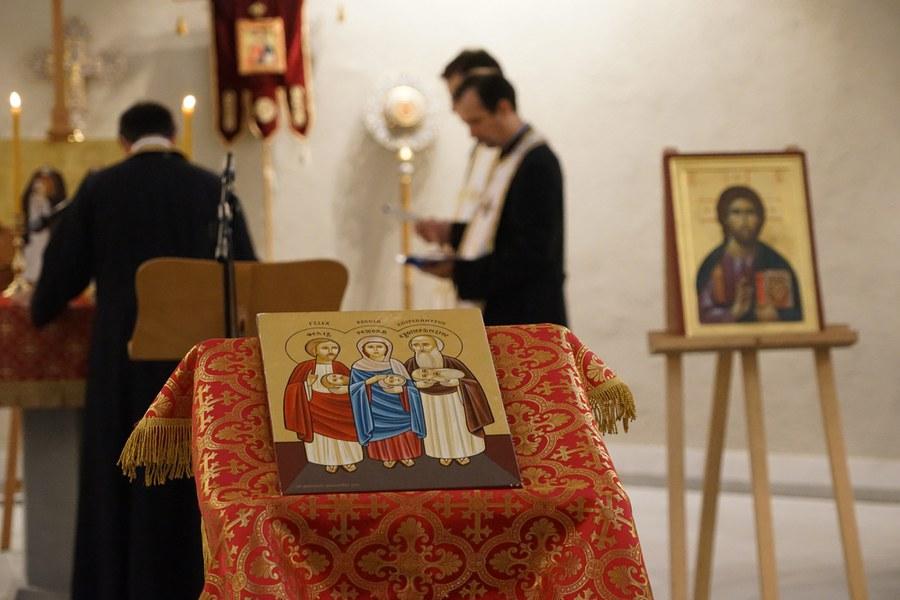 Gemeinsames Gebet aller orthodoxen Gemeinschaften in der Wasserkirche_FOTO_Arnold Landtwing