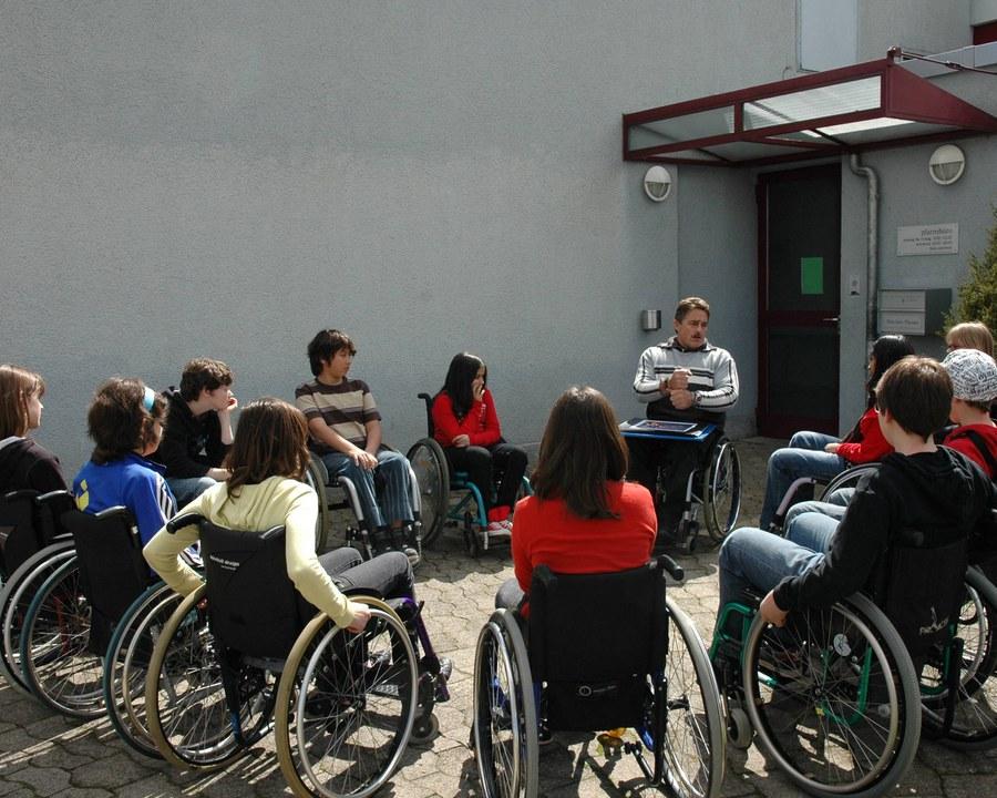 Sensibilsierung für Kinder und Jugendliche - organisiert von der Behindertenseelsorge