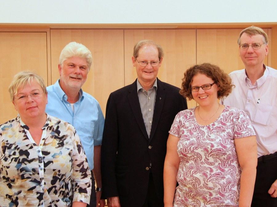 Der Ausschuss des kantonalen Seelsorgerats 2016-20