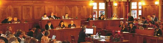 Sitzung der Synode