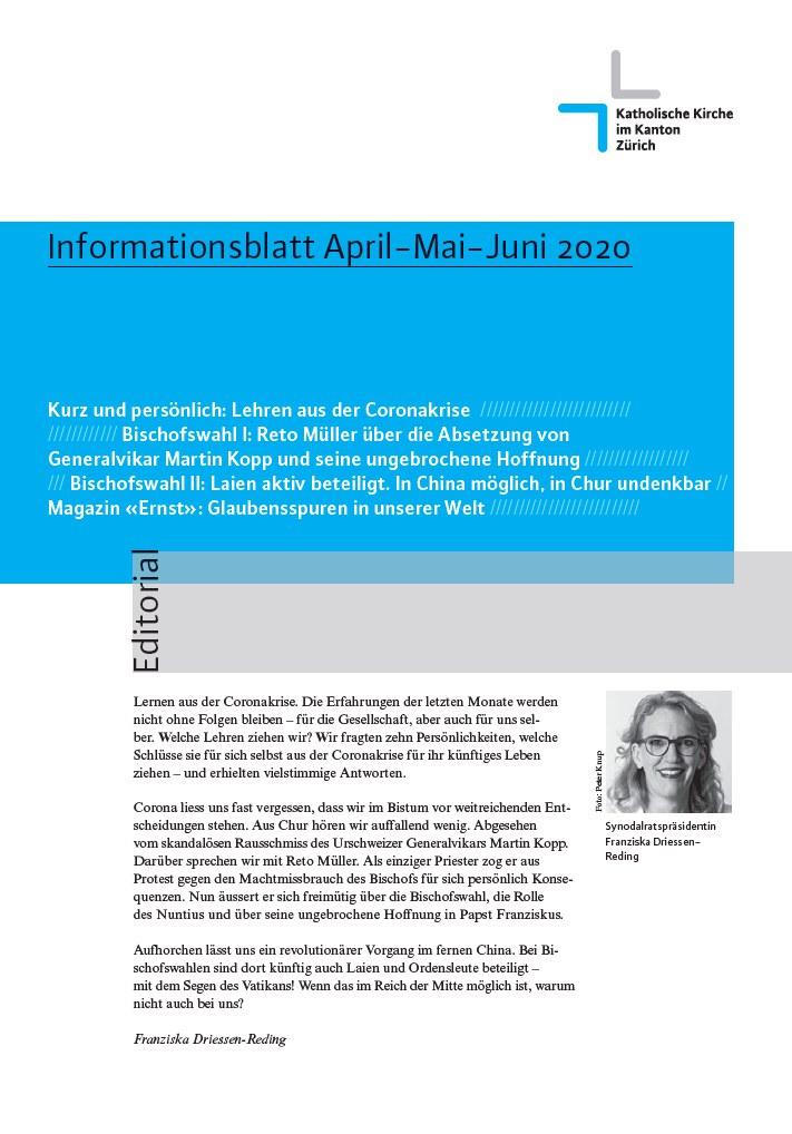 Informationsblatt Juni 2020