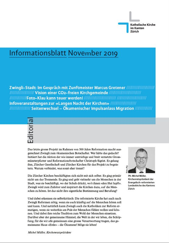 Informationsblatt November 2019